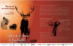 Double-page spread in « Jours de Chasse »